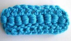 Bullion stitch / crochet