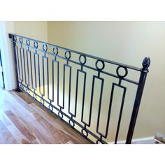 Iron work expo in New Jersey. Just had this wrought iron railing made. It's a work of art!