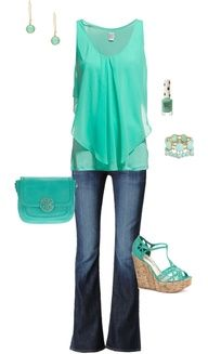 Love the top and color.