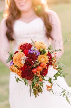 Taryn + Taylor Outdoor Wedding Bouquet | @fsdallas | @dyankethley Photography