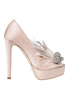 #Stunning Women Shoes #Shoes Addict #Beautiful High Heels #Wonderful Shoes #Shoe Porn  Feathers and baubles - Christian Dior