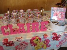 My Little Pony Party for 3 year old