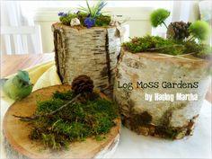 log moss gardens