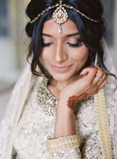 For any couples planning a multicultural wedding, take notes from Matthew and Preena who paid homage to both their Indian and English heritages in one cohesive celebration. They began the day with a Western-style ceremony followed by a traditional Hindu