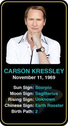 Celeb #Scorpio birthdays: Carson Kressley's astrology info! Sign up here to see more: https://www.astroconnects.com/galleries/celeb-birthday-gallery/scorpio?start=90 #astrology #horoscope #zodiac #birthchart #natalchart #carsonkressley #queereyeforthestraightguy