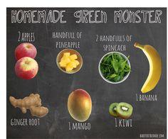 loveeee Naked green machine! homemade Naked green juice recipe