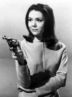 Diana Rigg as Mrs. Peel