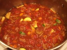 My Mother's Version: Weight Watcher's 0 Points Vegetable Soup Recipe - Food.com - 278655