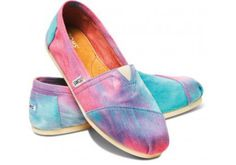 Tie dye toms, I love them!!