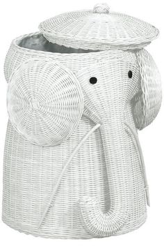 Rattan Elephant Hamper - Laundry Hampers - Bath | HomeDecorators.com $89