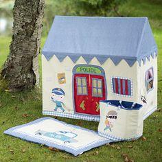Casitas de tela para jugar on pinterest playhouses - Casita tela ninos ...