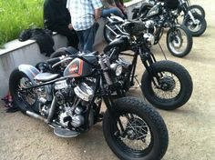 Bobber Inspiration | Harley bobbers | Bobbers and Custom Motorcycles