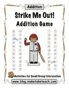 FREE game for practicing addition facts