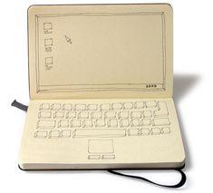 #Moleskine computer