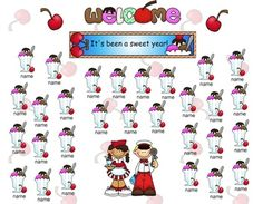 What a sweet year it has been! Spend the last few mornings checking in for attendance with this cute ice cream themed Smart Notebook file!The sundaes are animated to fade out when touched!    Directions for editing to add student names are included.     J. Moriconi~Kidsrcute