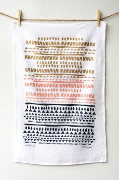 Horizon Tea Towel // $24.00