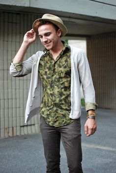 Camouflage Shirt - Scout Sixteen