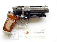 Deckard's gun. Blade Runner