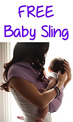 FREE Baby Sling!  {just pay s/h} ~ this would make a fun baby shower gift, too! #baby