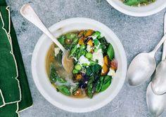 Spring Egg Drop Soup - Bon Appétit