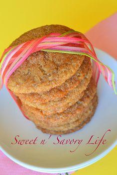 Sweet n Savory Life:: Gluten Free Snickerdoodles