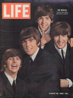 Cover of Life Magazine  August 1964 The Beatles  Memory Lane   Step back in time - Previously Classmates.com  I was 8 years old then but remember this!