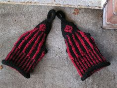 Goth Wrist Warmers by Leilani Berry