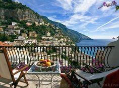 The best views of Positano - Hotel Poseidon