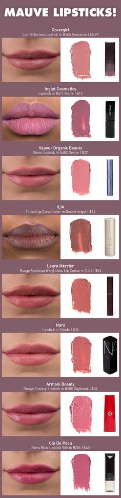 Mad About Mauve: The Mauve Lipstick Review