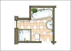 bad on pinterest attic bathroom bathroom and modern. Black Bedroom Furniture Sets. Home Design Ideas
