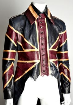 Alexander McQueen designed for David Bowie in the 1990s.
