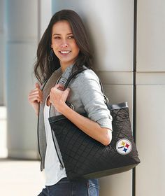 NFL Quilted Totes|The Lakeside Collection