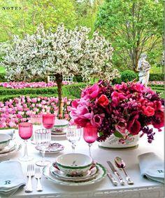 Pretty Spring Tablescape