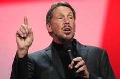 Larry Ellison steps down from CEO position at Oracle.