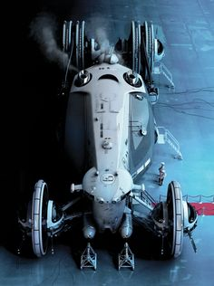 Icetrain - by Daniel Simon