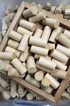 Craft Corks  Blank Solid  Synthetic Wine Cork Supply