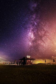 The Milky Way over the Fuerteventura Island