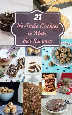 Top 21 No-Bake Cookies to Make this Summer