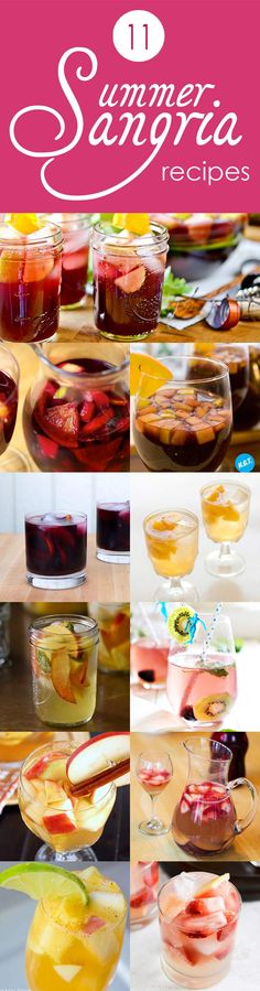 Sangria Summer: 11 Twists on a Timeless Classic