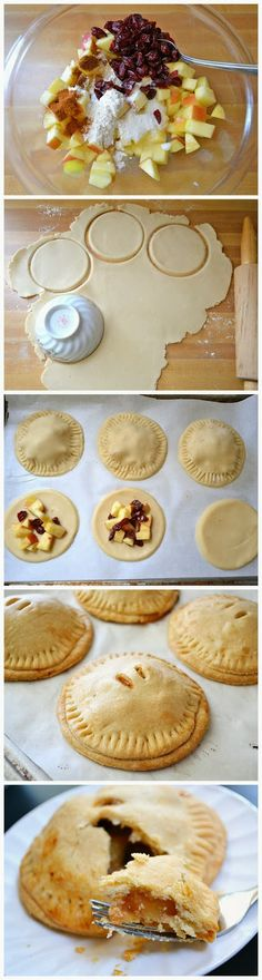 ... pies cranberries hands hand pies dry cranberries cranberries apples