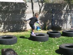 Play-Based Classroom: Fun with Tires