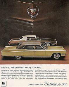 1968 Cadillac Fleetwood Brougham and Fleetwood Eldorado