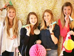 DIY Glitter Photobooth Backdrop
