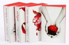 Limited Edition White Cover Twilight Series !!! My favorite Christmas gift this year !!
