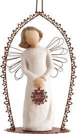 NEW!  Willow TreeTM  2012 Dated Ornament  Gift Boxed. (Item #23051) $19.50