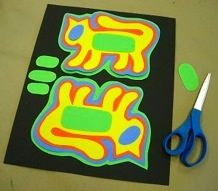 Art lesson on Molas