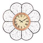 Scalloped Metal Clock | Kirkland's