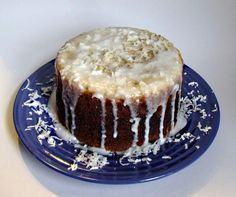 Coconut cake cooked in a Crock-Pot.