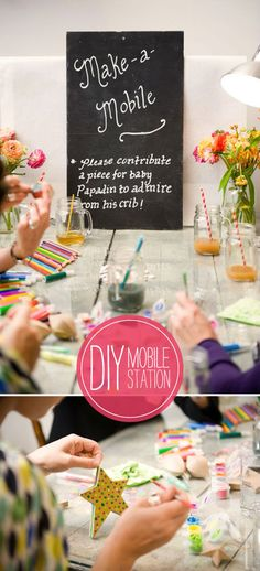 cute activity for baby shower guests