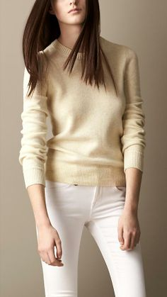 Burberry Brit Cashmere Cotton Sweater